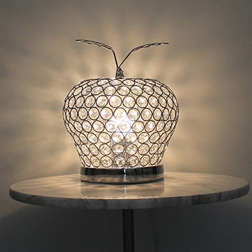 Lámpara mesa - cristal creativo oro/rojo/plata LED