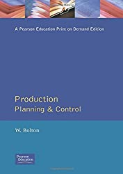 Production Planning & Control by William Bolton (1994-08-31)