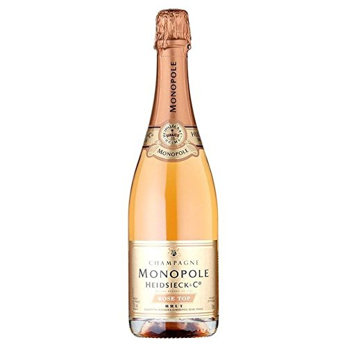 Heidsieck Monopole Rose Top Champagne NV 75cl - (Packung mit 6)