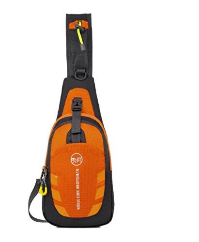Bulage Borse Esterno Sacchetto Della Cassa Messenger Multi-funzionale Per Il Tempo Libero Portatili Piccoli Sport Borse Orange