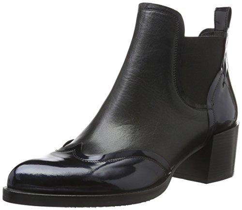 Zinda Damen 2445 Kurzschaft Stiefel Schwarz (Negro)