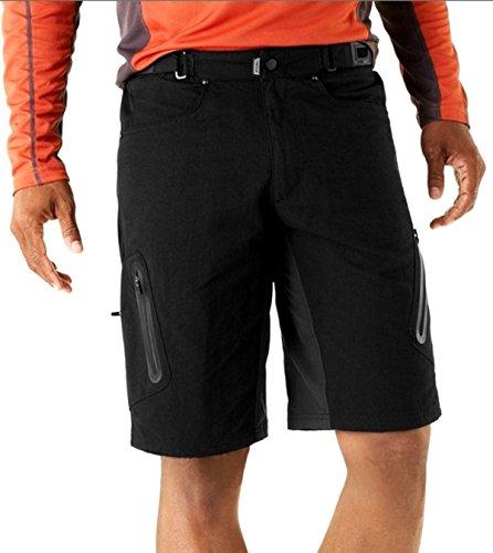 ally-herren-sport-im-freien-kurze-wasserdicht-freizeit-hosen-mtb-kurzschlusse-schwarz-xl-34-36