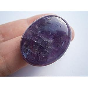 Amethyst Ring lila mit großem Stein statementschmuck zum Hippy boho chic Geschenk Etui