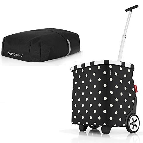 reisenthel Angebot Einkaufstrolley carrycruiser Plus gratis Cover Abdeckung und Sichtschutz! (Mixed dots)