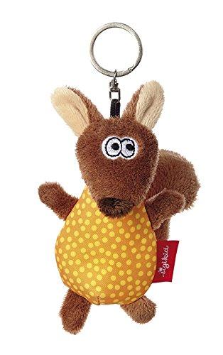 d Jungen, Schlüsselanhänger, Eichhörnchen, 10 cm, Braun/Gelb, 41160 ()