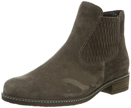 Gabor Shoes Comfort Sport, Stivali Chelsea Donna Grigio (anthrazit micro)