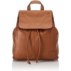 Timberland Backpack, Bolsos mochila Mujer, Beige (Cognac), 15.5x34.5x28.5 cm (W x H L)