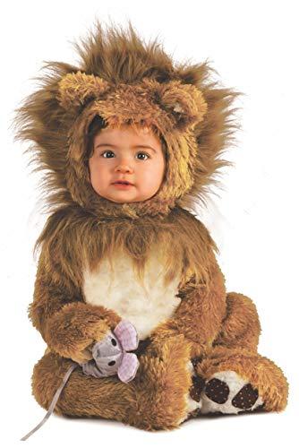 Rubie's it885172-6/12 - leoncino costume, super baby, taglia 6/12 mesi