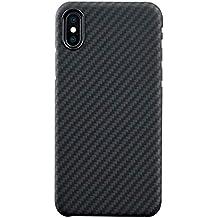 tout neuf meilleur authentique fournir beaucoup de cover iphone x carbonio - Nero - Amazon.it
