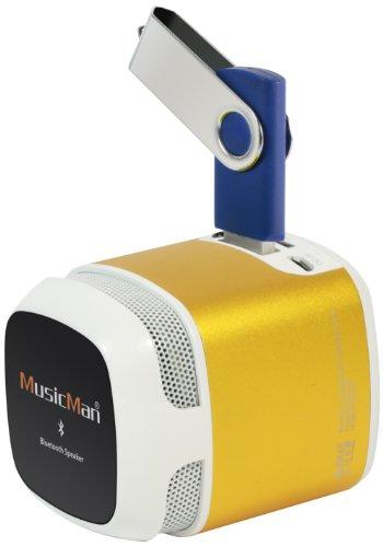 Preisvergleich Produktbild Technaxx Musicman Makro Bluetooth Soundstation NFC-X6,  gold