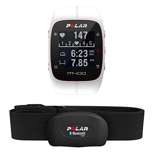 Polar M400 HR - Reloj de entrenamiento con GPS integrado y registro de