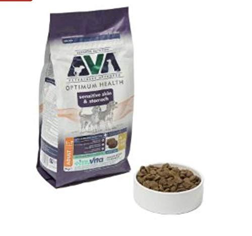 AVA Hundefutter, für große Rassen, 2 kg, geeignet für Hunde von 8 Monaten bis 18 Monaten