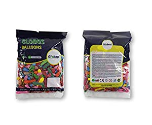 Globest- Globos de fiesta, Multicolor Festival 50590)