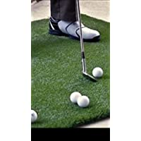 Westgate carpets LARGE GOLF GRASS PRACTICE MAT *100 cm x *100 cm DRIVING CHIPPING PITCHING PUTTING