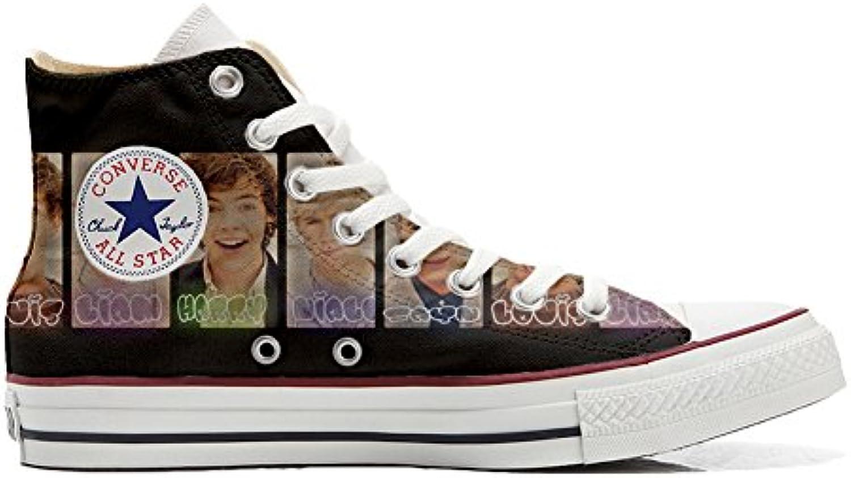 Converse All Star Hi Customized Personalisiert Schuhe (Gedruckte Schuhe) One Direction