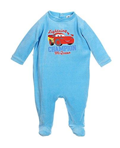 Pigiama Baby ragazzo Disney Cars 'Champion MC QUEEN' blu da 3a 23mesi Blu blu 6 Mesi