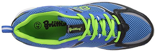 Bruetting - Runaway, Scarpe da corsa Uomo Blu (Blau (blau/schwarz/lemon))