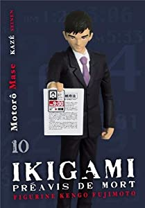 Ikigami Edition collector avec figurine Tome 10