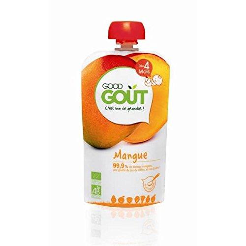 Good goût gourde mangue 120g - ( Prix Unitaire ) - Envoi Rapide Et Soignée