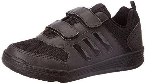 Adidas Boy's Flo K Black Formal Shoes - 11 kids UK/India (29 EU)