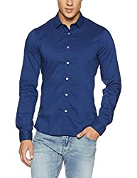 GUESS Mens Casual Shirt (7613351639213_M72H46W7ZK0_Small_B715)