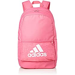adidas Classic Backpack Bos, Unisex Adulto, Semi Solar Pink/White, Talla Única