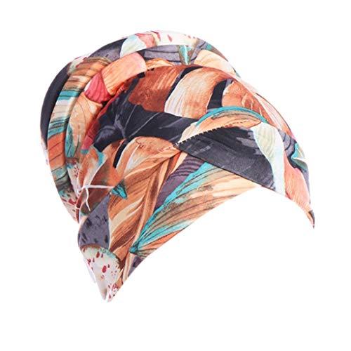 CixNy Turban Hüte, Beanie Schal Kopfbedeckung Kopftuch Fedora Hut Handgefertigt...