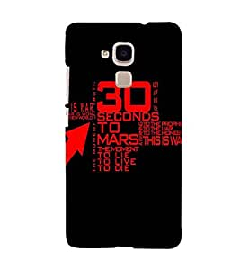 Unique print Back cover for Huawei Honor 5C