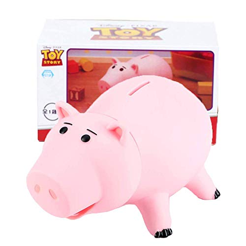 Eulan Hamm Piggy Bank Cute Pink Pig Money Box Plastic Saving Coin Box with Color Package Money Bank Great Gift Toy for Kid Children Girls Boys