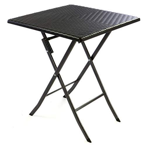 Amazon De Nexos Tisch In Rattan Optik Balkontisch Gartentisch