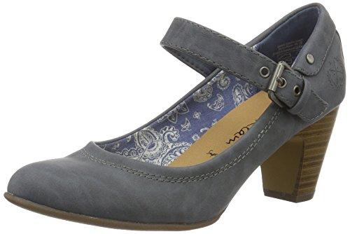 Jane Klain 224 993, Escarpins femme Bleu jean