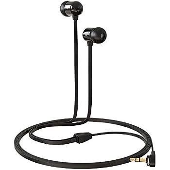 Betron B750s Earphones Headphones, High Definition, in-ear, Tangle Free, Noise Isolating , HEAVY DEEP BASS for iPhone, iPod, iPad, MP3 Players, Samsung Galaxy, Nokia, HTC, Nexus, BlackBerry etc (Black)