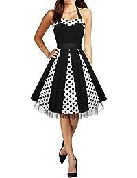 Black Butterfly 'Ivy' Vestido Swing De Lunares De Los Años 50