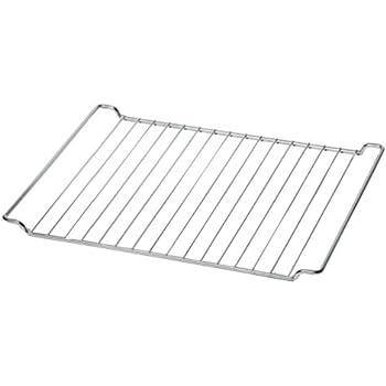 44,5 x 34 cm. Sauvic 02560-Backofenrost verchromter
