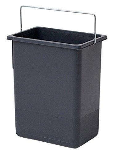 Hailo Ersatzeimer, 8,5 Liter, grau, zu Tandem S und Tandem S-Plus 2