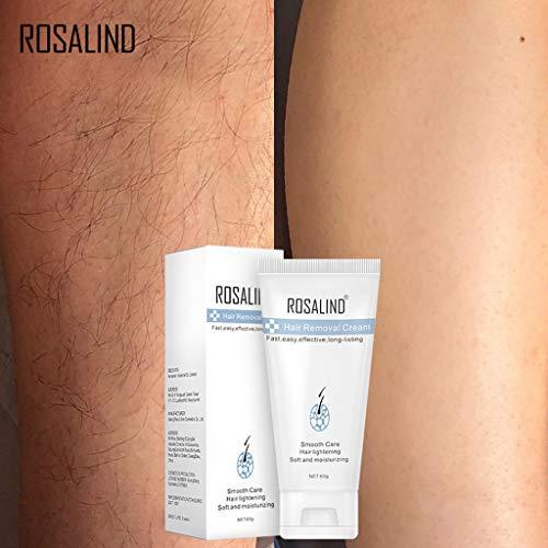 DAKERTA Natürliche Haar-Abbau-Creme für Männer u. Frauen-schmerzlose dauerhafte Haar-Abbau-Spray-leichte Bikini-Enthaarungs-Blase -