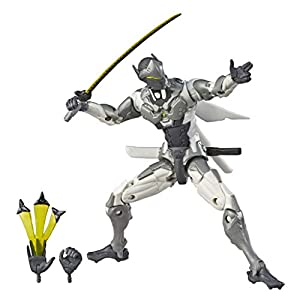 Overwatch- Ultimates Chrome Genji, (Hasbro E7391EU4)