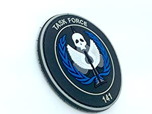 Taskforce 141 Opérations Spéciales Multinationales PVC Airsoft Velcro Patch