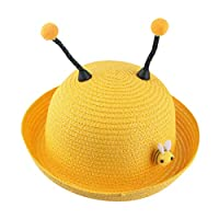 Dapei UV Protection Summer Baby Cartoon Children Breathable Hat Straw Hat Kids Hat Boy Girls Hat Cap (g)