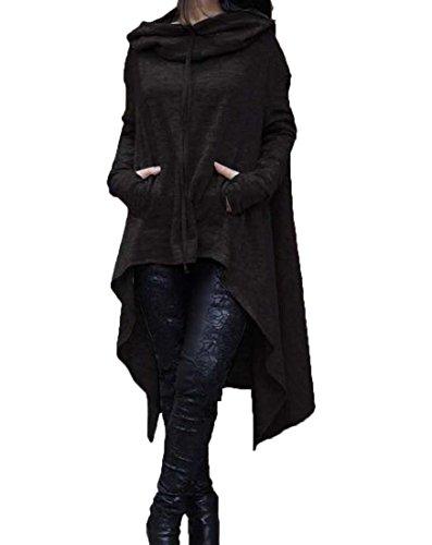 Tootlessly-Women Damen Bluse Gr. XX-Large, schwarz (Aeropostale Womens Hoodie-xxl)