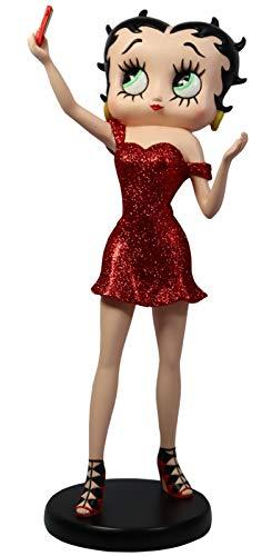 Betty Boop - Figura Coleccionable (30 cm), Color Rojo