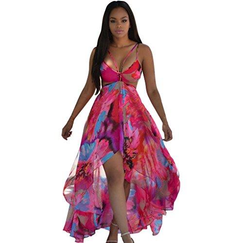 amlaiworld-women-v-neck-printed-chiffon-party-clubwear-maxi-dress-l-red