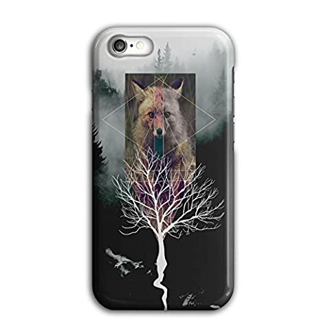 Fox Tree Wild Life Nature Foxy Forest 3D iPhone 7 Case | Wellcoda