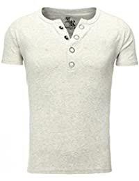 Young and Rich - Tee shirt gris clair homme Young and Rich 1-872 Gris
