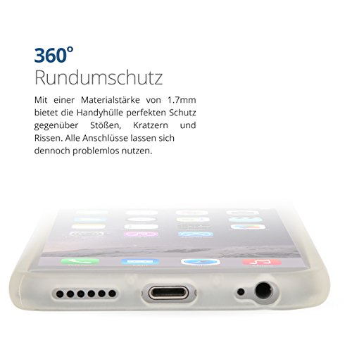 iPhone 6 / 6S Bumper Case Schutzhülle Cover rot von Danura Matt