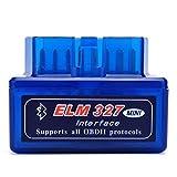 Dyoung Ega Mini ELM327 Interfaz V2.1 Bluetooth OBD-II OBD2 Auto Coche Herramienta de análisis de diagnóstico