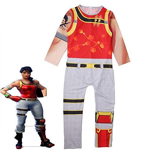 ZX Kleidung Cosplay Kleidung Stil Kleidung Halloween Jugend Show Kostüme Spiel Haut Kleidung Party Style Kleidung,Wie in Abbildun,140 ()