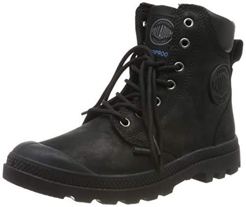dc4a97d0f6f46 Palladium Unisex-Erwachsene Pampa Cuff Wp Lux Klassische Stiefel, Schwarz  Black 466, 42 EU