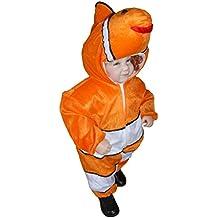 J22 Tamaño 18-24 meses de disfraces pescado para bebés y niños pequeños, cómodo de llevar en la ropa normales