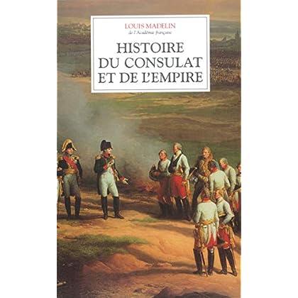 Histoire du Consulat et de l'Empire (coffret de 4 volumes)
